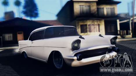 Chevrolet Bel Air 1957 FF Style for GTA San Andreas