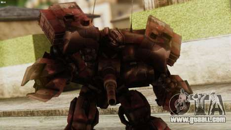 Watpath Skin from Transformers for GTA San Andreas