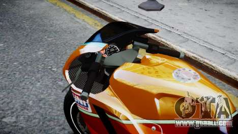 Bike Bati 2 HD Skin 1 for GTA 4 right view