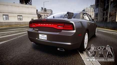 Dodge Charger Traffic Patrol Unit [ELS] rbl for GTA 4 back left view