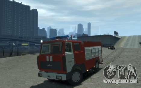 MAZ 533702 Fire Lipetsk for GTA 4