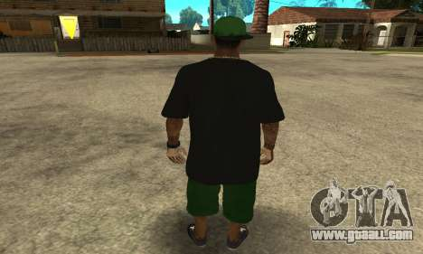 Groove St. Nigga Skin The Third for GTA San Andreas third screenshot
