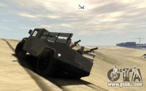 GTA 5 Millitary Patriot for GTA 4 left view