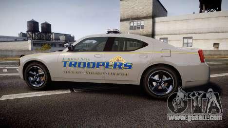 Dodge Charger Alaska State Trooper [ELS] for GTA 4 left view