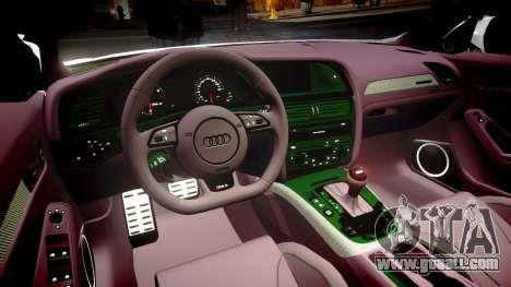 Audi S4 Avant Belgian Police [ELS] for GTA 4 side view
