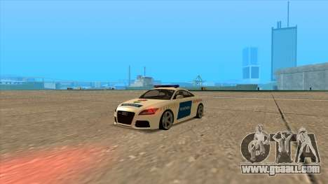 Audi TT RS 2011 Hungarian Police for GTA San Andreas