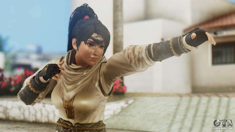 Skin Momiji Gta Sa: Dead Or Alive 5 Ultimate Momiji Costume 2 For GTA San Andreas