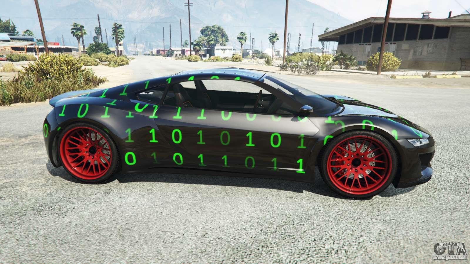 Dinka Jester (Racecar) Maxtrix for GTA 5