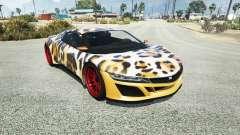 Dinka Jester (Racecar) Leopard for GTA 5