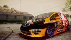 Honda Fit Street Modify Inori Yuzuriha Itasha for GTA San Andreas
