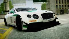 Bentley Continental GT3 2014 for GTA 4