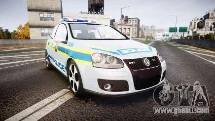 Volkswagen Golf South African Police [ELS] for GTA 4