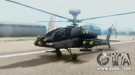 AH-64D Apache Longbow for GTA San Andreas