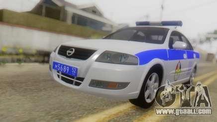 Nissan Almera Iraqi Police for GTA San Andreas