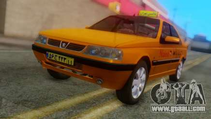 Peugeot 405 Slx Taxi for GTA San Andreas
