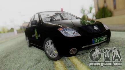 SAIPA Tiba Police v1 for GTA San Andreas