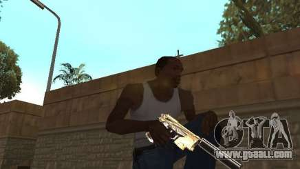 Chameleon Weapon Pack for GTA San Andreas