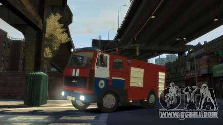 MAZ 533702 the Ministry of emergency situations of Belarus for GTA 4