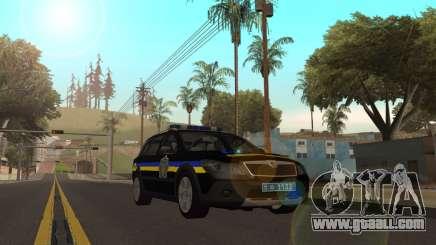 Skoda Octavia Scout ДПС Украина v2 for GTA San Andreas
