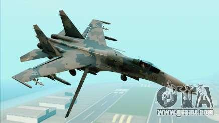 Sukhoi SU-35BM Mobius Squadron for GTA San Andreas