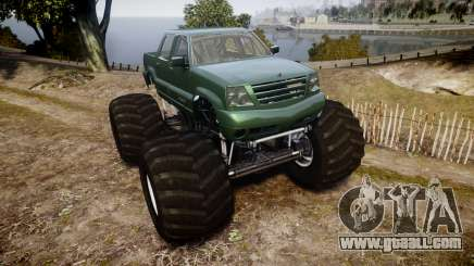 Albany Cavalcade FXT Monster Truck for GTA 4