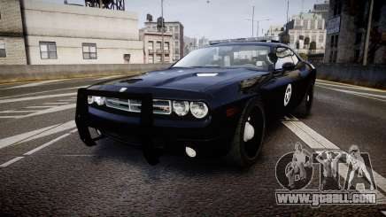 Dodge Challenger Marshal Police [ELS] for GTA 4