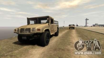 GTA 5 Millitary Patriot for GTA 4