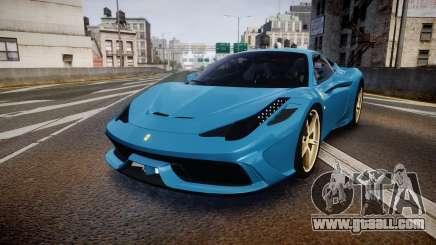 Ferrari 458 Speciale 2014 for GTA 4