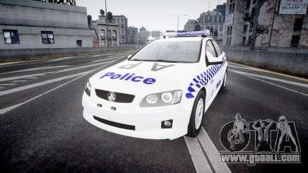 Holden Commodore Omega NSWPF [ELS] for GTA 4