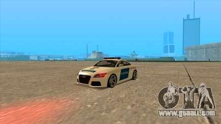 Audi TT RS 2011 Hungarian Police for GTA San Andreas