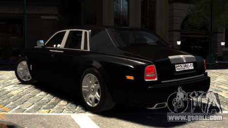 Rolls-Royce Phantom 2013 v1.0 for GTA 4 left view