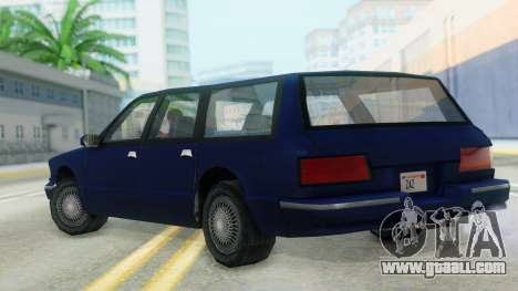 Premier Station Wagon for GTA San Andreas left view
