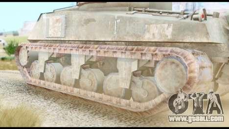 M4 Sherman 75mm Gun Urban for GTA San Andreas back left view