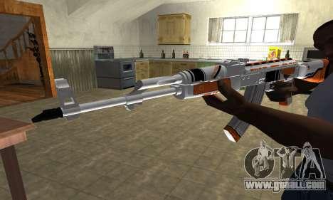 AK-47 Asiimov for GTA San Andreas second screenshot