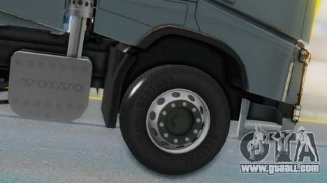 Volvo FH Euro 6 Heavy 8x4 for GTA San Andreas back left view