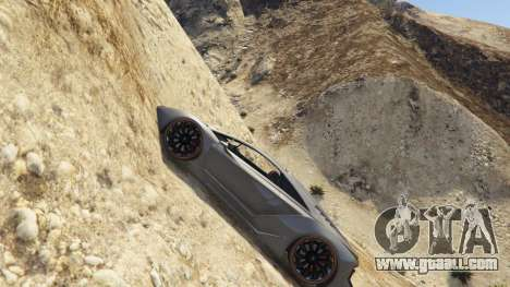 GTA 5 Sticky Underwater Cars second screenshot