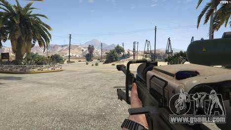 GTA 5 Halo UNSC: Sniper Rifle fifth screenshot