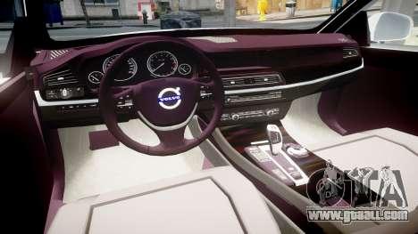 Volvo V70 2014 Unmarked Police [ELS] for GTA 4 back view