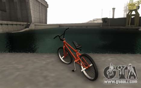 BMX HD for GTA San Andreas left view