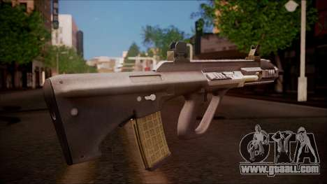 AUG A3 from Battlefield Hardline for GTA San Andreas second screenshot