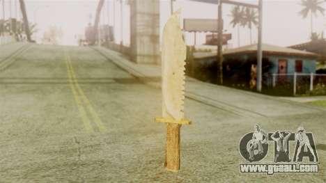 Red Dead Redemption Knife Legendary Assasin for GTA San Andreas