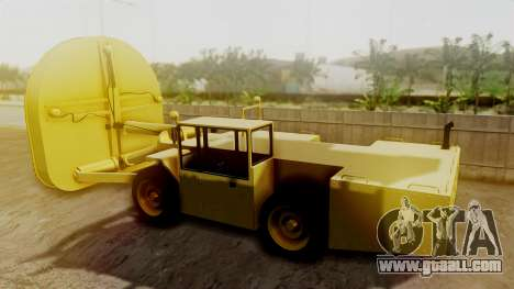 HVY Cutter for GTA San Andreas left view