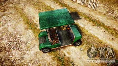 GTA V Nagasaki Caddy for GTA 4 right view