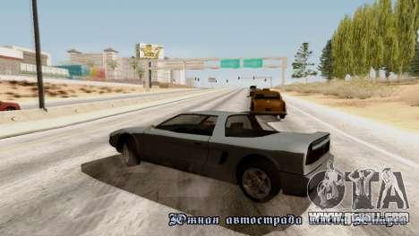 Physics from Forza Motorsport 5 for GTA San Andreas forth screenshot