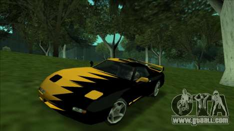ZR-350 Double Lightning for GTA San Andreas