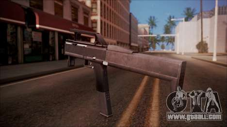 FMG-9 from Battlefield Hardline for GTA San Andreas second screenshot