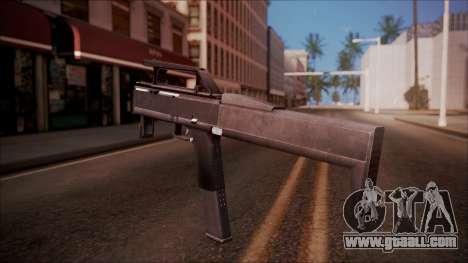 FMG-9 from Battlefield Hardline for GTA San Andreas second screenshot