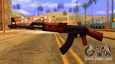 Atmosphere AK47 for GTA San Andreas