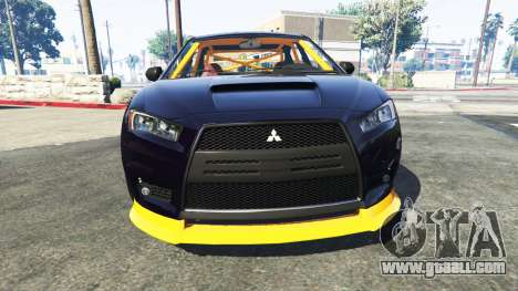 Karin Kuruma Mitsubishi Lancer Evolution X for GTA 5