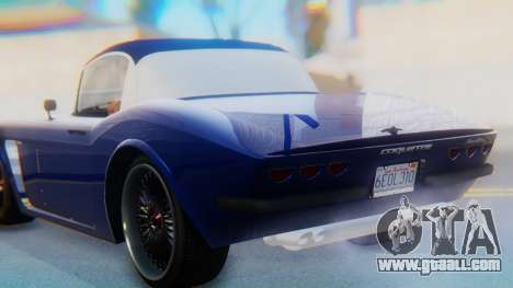 Invetero Coquette BlackFin v2 GTA 5 Plate for GTA San Andreas upper view